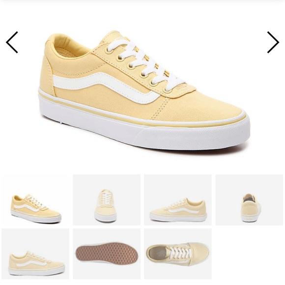 Vans Shoes | Pale Yellow Old Skool Vans